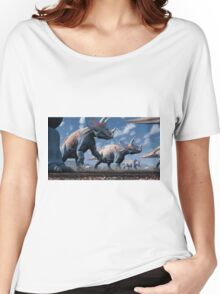 Triceratops Herd Women's Relaxed Fit T-Shirt