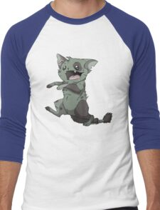 Zombie Kitty Men's Baseball ¾ T-Shirt