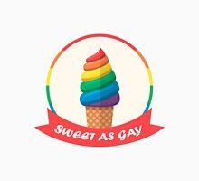 Regenbogen Eis so Sweet As Gay Unisex T-Shirt