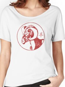 Chinese New Year of The Sheep Goat Ram Women's Relaxed Fit T-Shirt