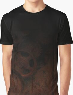 old industrial gears shady Graphic T-Shirt