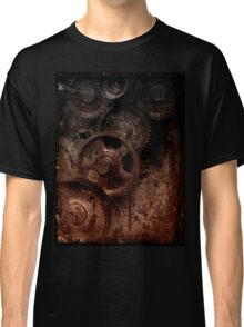 old industrial gears shady Classic T-Shirt