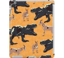 He's Gonna Eat the Goat? iPad Case/Skin