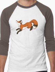 Red Fox Men's Baseball ¾ T-Shirt