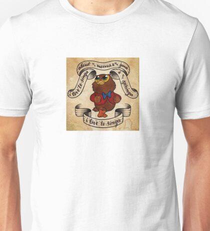 I Love to Singa! Unisex T-Shirt
