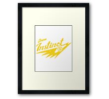 Instinct Team Framed Print