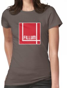 I Love Irish Movies - Fillum 4 Womens Fitted T-Shirt