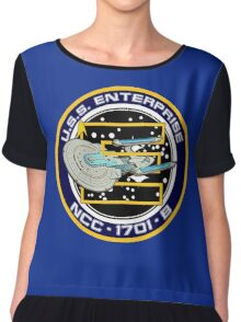 STAR TREK - U.S.S. ENTERPRISE Chiffon Top