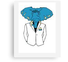 Classy Elephant  Canvas Print