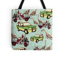 Jurassic Ride Tote Bag