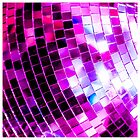 Purple Disco Ball by essentialimage