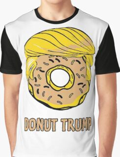 Funny Donut Trump Graphic T-Shirt