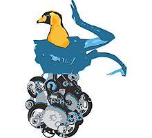 Robot Bird Photographic Print