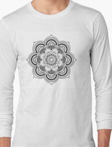 Lotus Mandala Long Sleeve T-Shirt