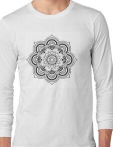 Lotus Mandala Long Sleeve T-Shirt