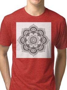 Lotus Mandala Tri-blend T-Shirt