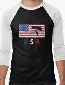 USA Paragliding 2016 competition gliders funny t-shirt Men's Baseball ¾ T-Shirt