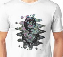 Sanity in Disguise (wave) Unisex T-Shirt