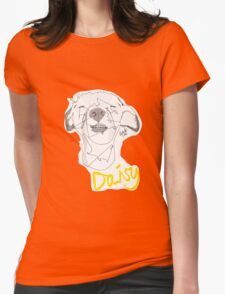 Daisy (@peggysplayfulpack) Womens Fitted T-Shirt