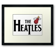 The Heatles in Black Framed Print