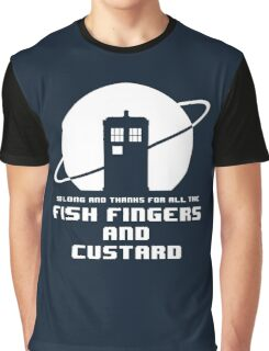 Fish Fingers and Custard Graphic T-Shirt
