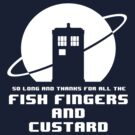 Fish Fingers and Custard by ToneCartoons