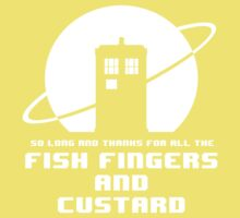 Fish Fingers and Custard Kids Clothes