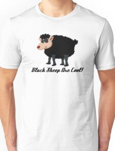 Chinese New Year Black Sheep Are Cool Unisex T-Shirt