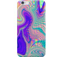 Purple Holographic Pattern iPhone Case/Skin