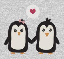 Penguins in love Baby Tee