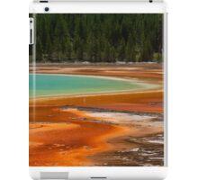 Colours of Yellowstone park iPad Case/Skin