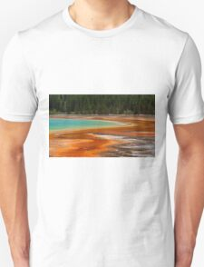 Colours of Yellowstone park Unisex T-Shirt