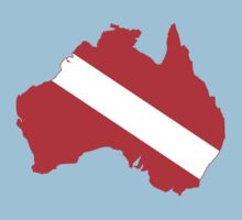 Diver Down Flag Australia by robotface