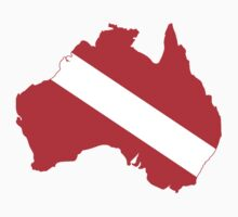 Diver Down Flag Australia by robotface