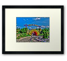 World of Wonders Framed Print