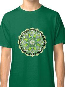 Green mandala Classic T-Shirt