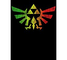Rasta Triforce Photographic Print