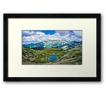 Amazing view of the Mountain Framed Print