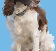 Tinkerbell, Springer Spaniel Sticker