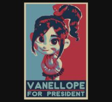 Vanellope for President by Jailboticus