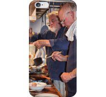 CAUTION: Chefs at Work! iPhone Case/Skin