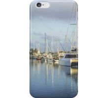 Early Morning Townsville Marina iPhone Case/Skin