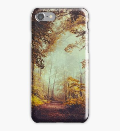 silent forest iPhone Case/Skin