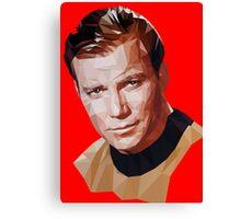 Captain Kirk Canvas Print