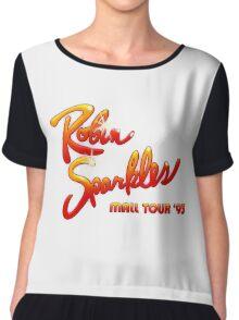HIMYM - Robin Sparkles Mall Tour '93 Chiffon Top
