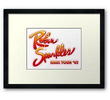 HIMYM - Robin Sparkles Mall Tour '93 Framed Print