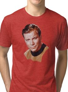 Captain Kirk Tri-blend T-Shirt