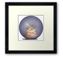 YOU roll with it Framed Print