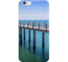 Pier on the Strand iPhone Case/Skin
