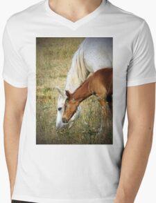 """Willow & Mom"" Mens V-Neck T-Shirt"